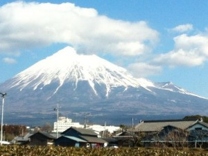 2月22日の富士山